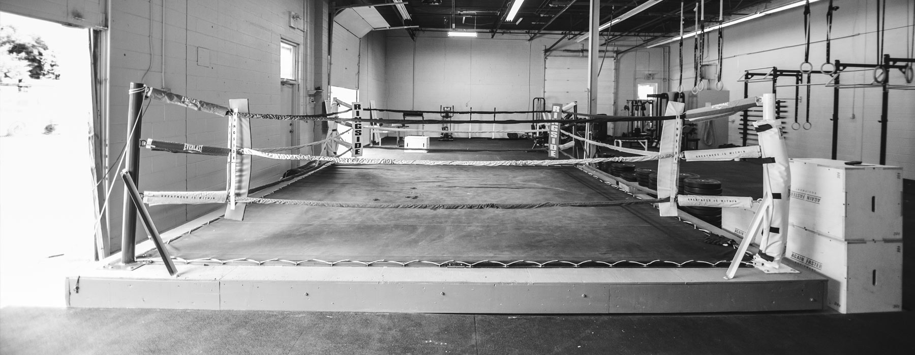 Our Facility -Boxing Ring